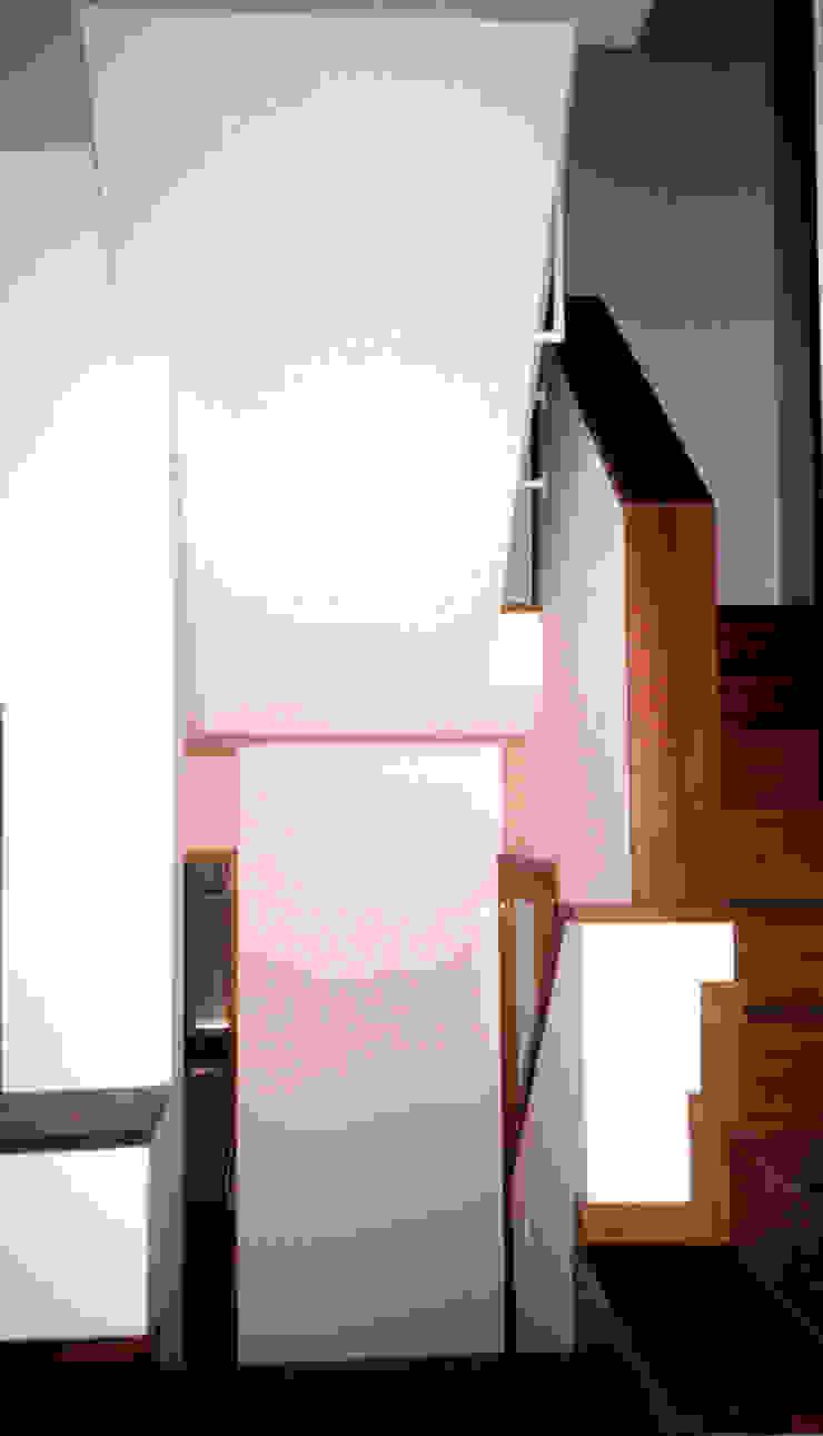 Interior Corredores, halls e escadas modernos por MANUEL CORREIA FERNANDES, ARQUITECTO E ASSOCIADOS Moderno
