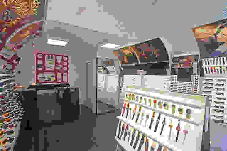 LOJA CHILLIEBEANS Lojas & Imóveis comerciais modernos por AMAC CONSTRUTORA Moderno