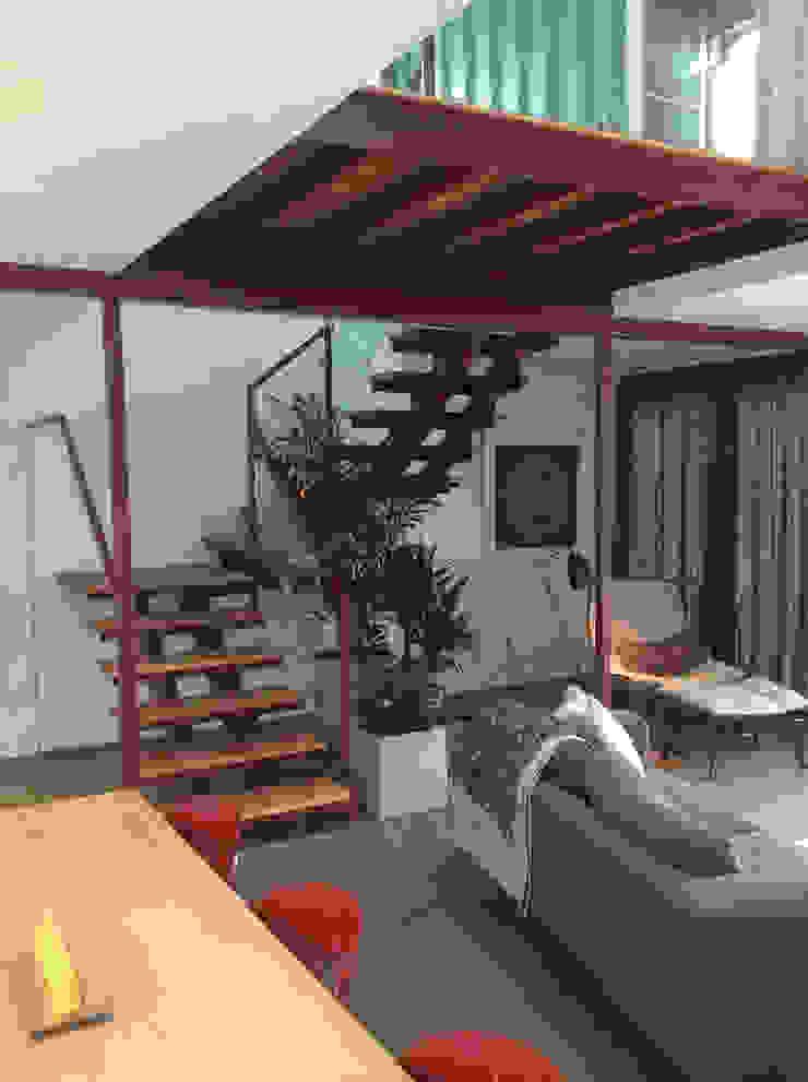 Stair 現代風玄關、走廊與階梯 根據 Ecosa Institute 現代風