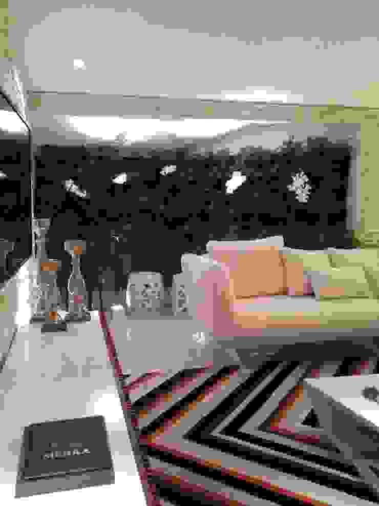 Studio Casa Cor Goiás 2014 Salas de estar modernas por Mahanaim Engenharia e Arquitetura Moderno