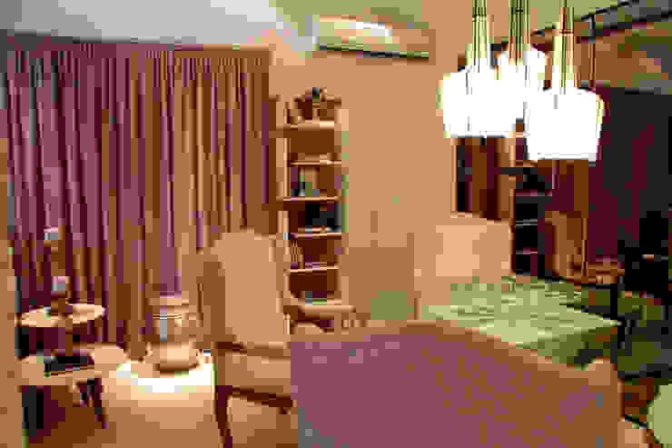 Studio Casa Cor Goiás 2014 Salas de jantar modernas por Mahanaim Engenharia e Arquitetura Moderno