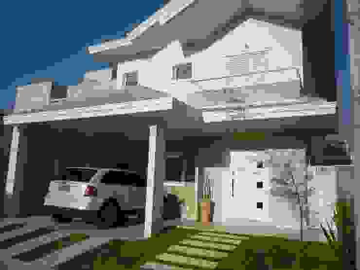 Residência Vale do Paraíba – SP Casas modernas por ANALU ANDRADE - ARQUITETURA E DESIGN Moderno