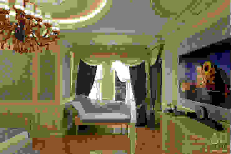 Дизайн интерьера спальни в доме в классическом стиле , 370 кв. м в, Московская область Спальня в классическом стиле от Ad-home Классический