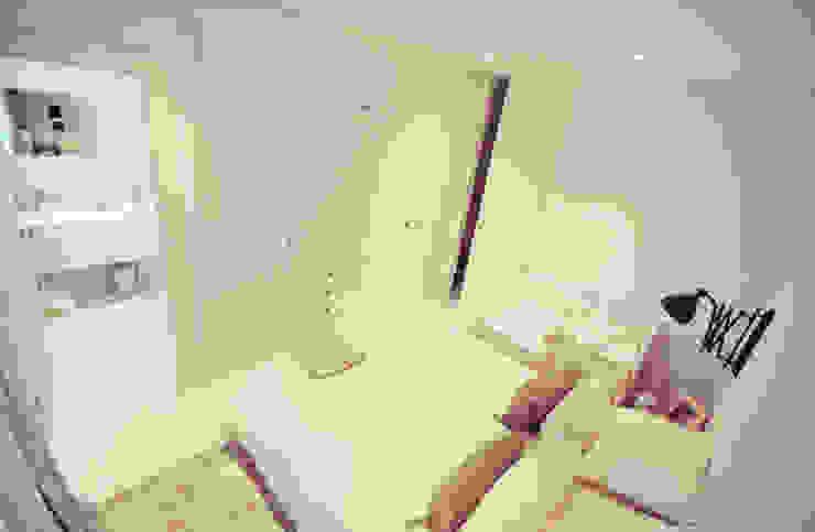 Ático nórdico Dormitorios de estilo escandinavo de MIDO DECORACIÓN Escandinavo