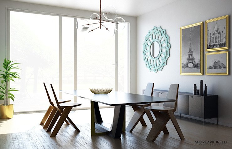 Andrea Picinelli Dining roomTables