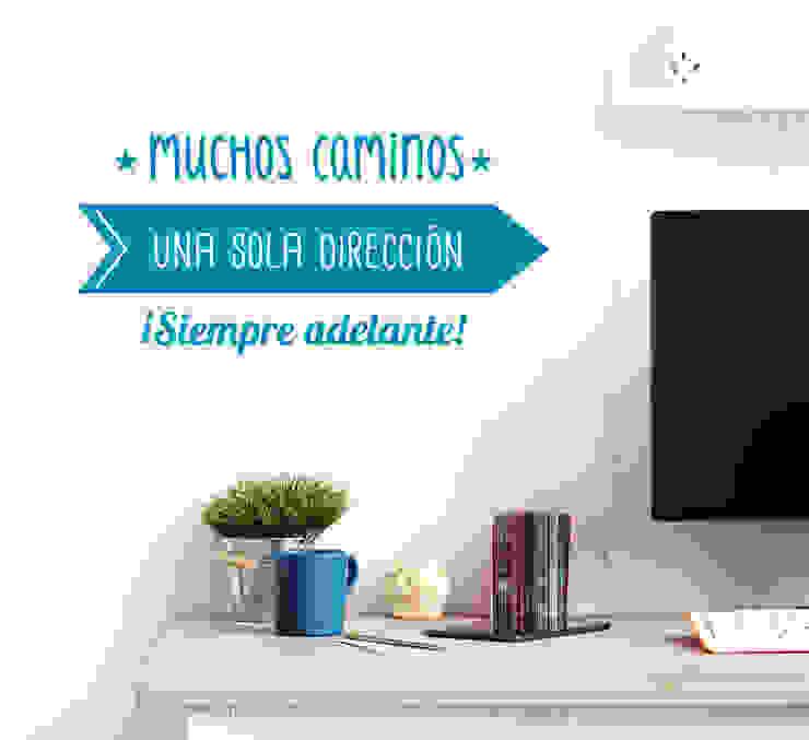 Vinilo motivador ¡Siempre adelante! de Tacaloca Moderno