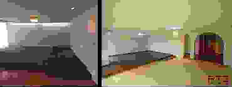 Cambio de pisos luminarias y pintura de RTZ-Arquitectos