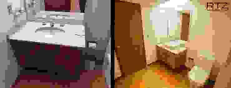 Cambio de pisos luminarias, madera y pintura de RTZ-Arquitectos