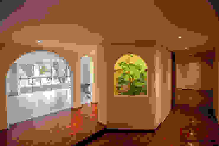 Vestibulo de entrada de RTZ-Arquitectos
