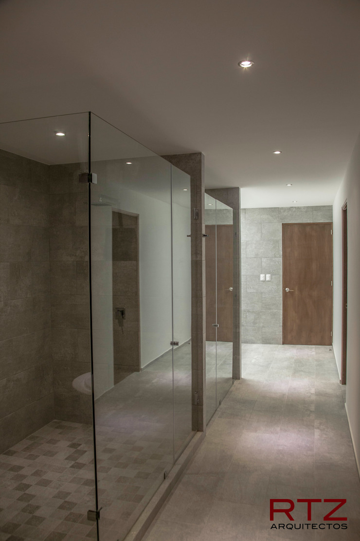 Modern style bathrooms by RTZ-Arquitectos Modern
