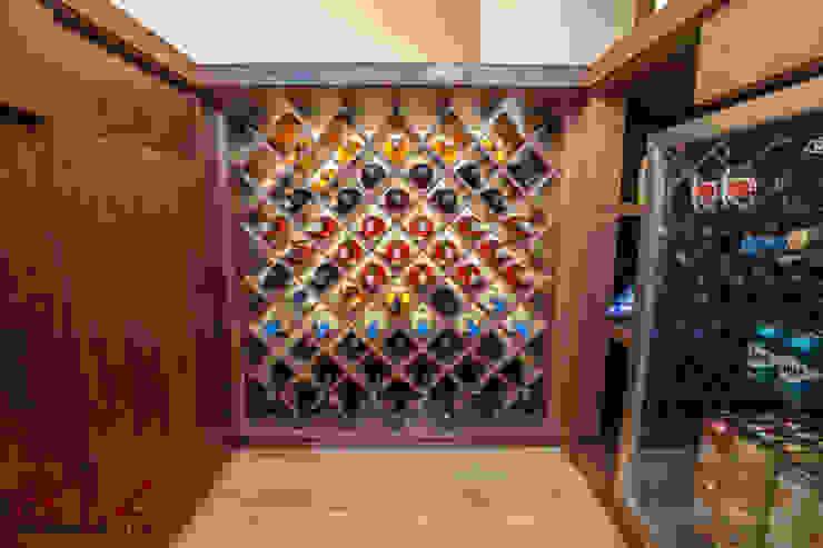 Diseño de mueble de bar de RTZ-Arquitectos Moderno