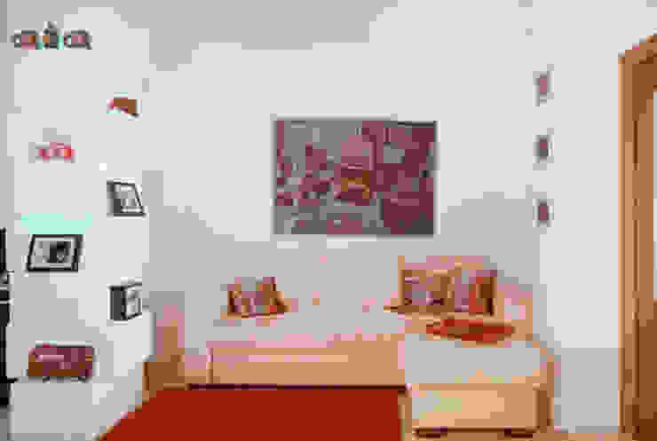 Дизайн-проект квартиры 72,3 м.кв. Гостиная в стиле минимализм от Iv Decor Минимализм