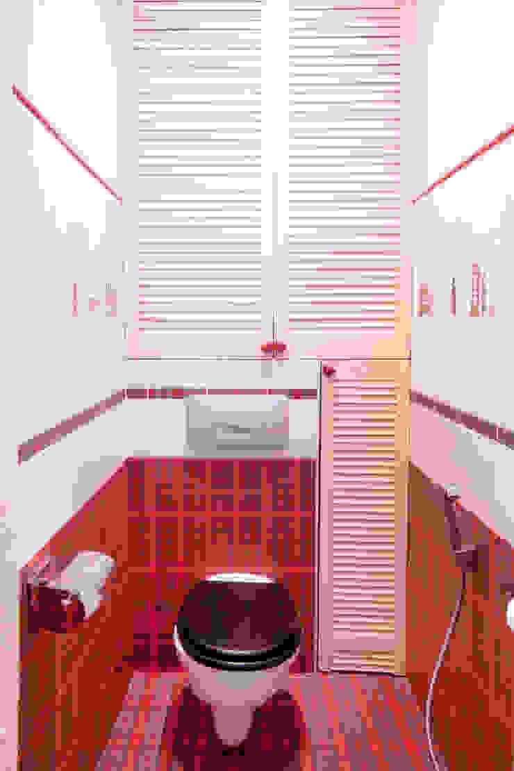 Дизайн-проект квартиры 72,3 м.кв. Ванная комната в стиле минимализм от Iv Decor Минимализм