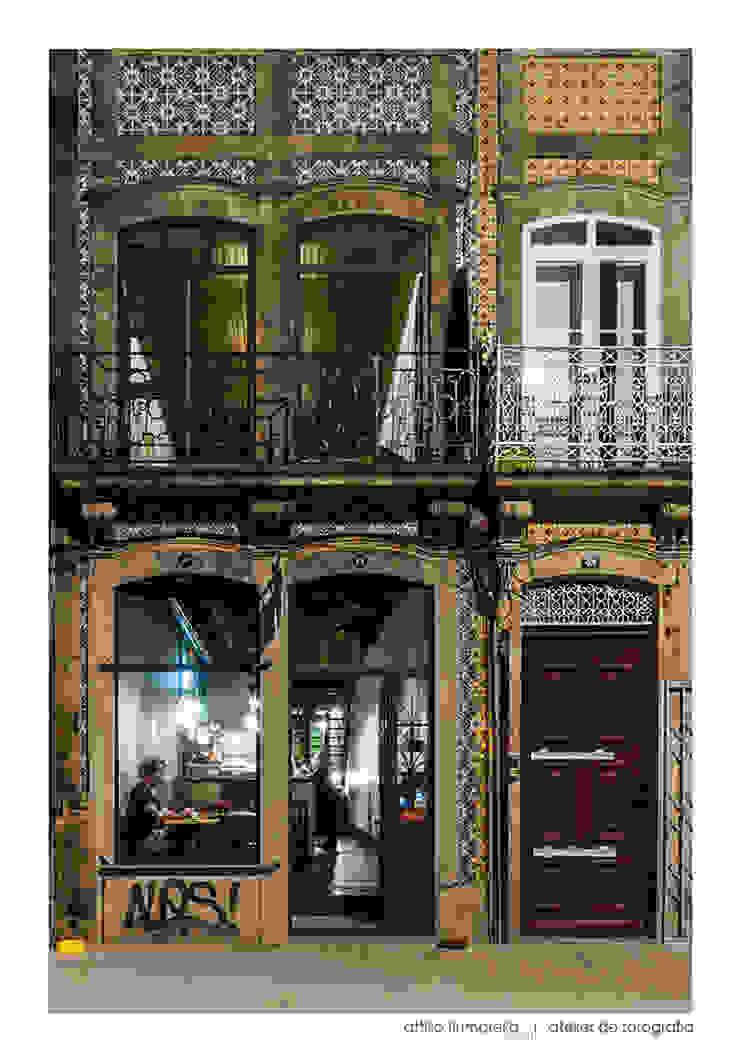 Duas de Letra Espaços de restauração modernos por BAAU - Bernardo Amaral Arquitectura+Urbanismo Moderno
