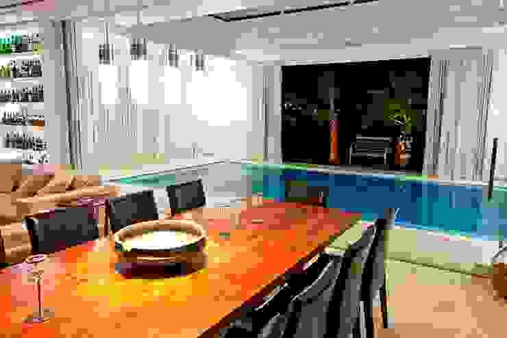 Sala de Jantar Ariane Labre Arquitetura Salas de jantar modernas