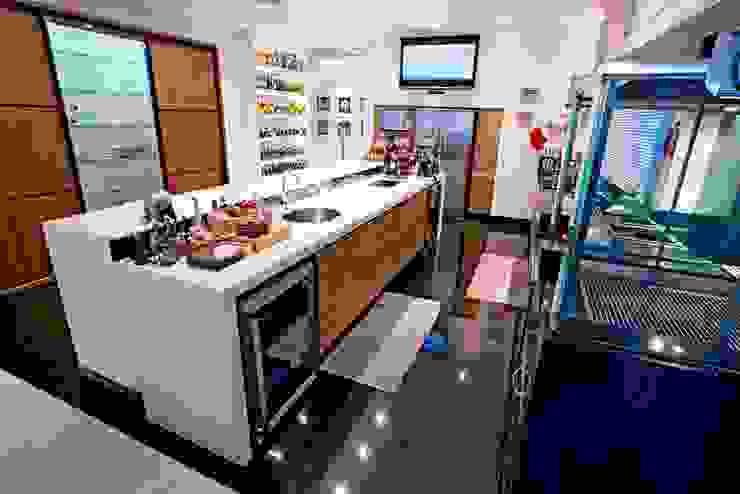 Cozinha Gourmet Ariane Labre Arquitetura Cozinhas modernas Branco