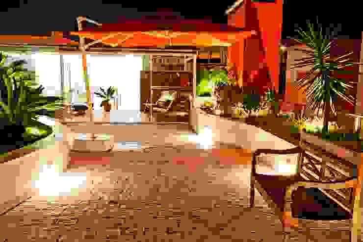 Terraço com Jardim de Inverno Ariane Labre Arquitetura Jardins de inverno modernos