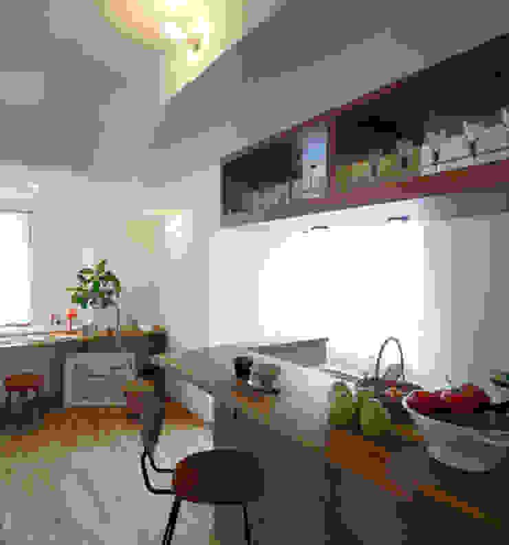 リアージュつくば春日 モダンな キッチン の 一級建築士事務所あとりえ モダン