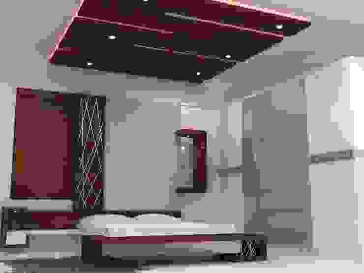Duplex Residence Modern style bedroom by BAVA RACHANE Modern