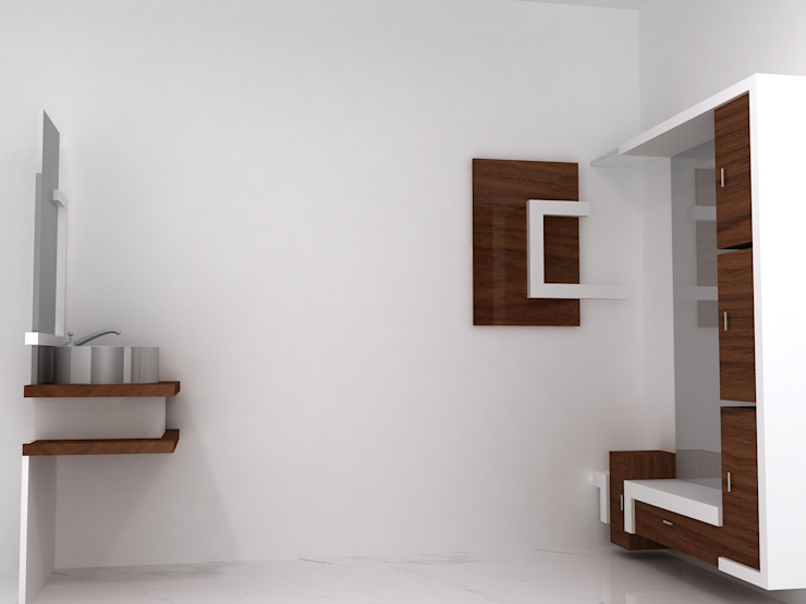 Duplex Residence Modern dressing room by BAVA RACHANE Modern