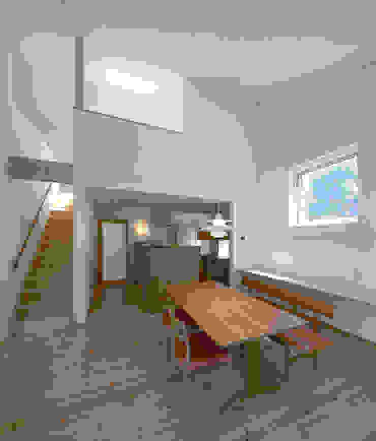 家具屋の家 モダンデザインの ダイニング の 一級建築士事務所あとりえ モダン