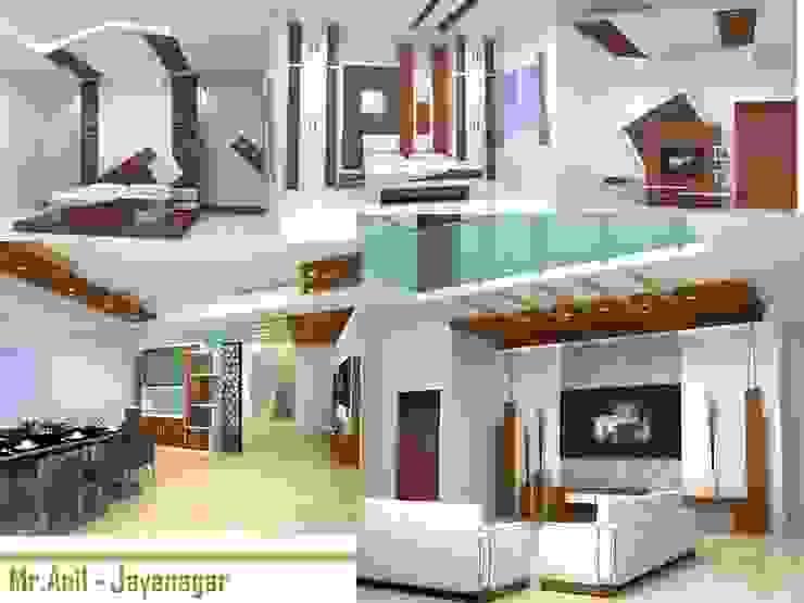 Residential interiors Modern living room by BAVA RACHANE Modern