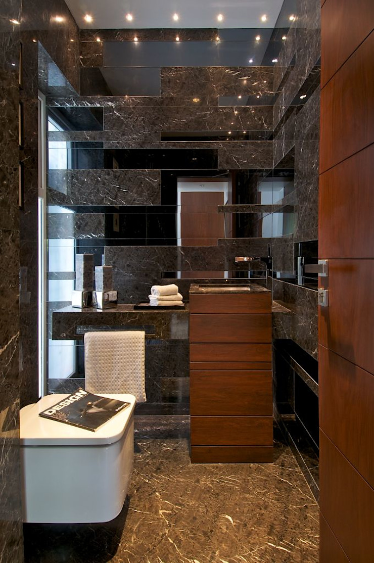 NP Villa Modern bathroom by Atelier Design N Domain Modern