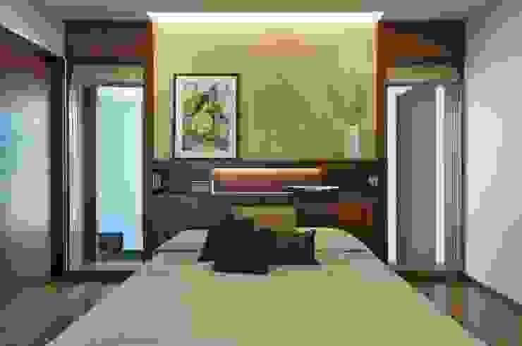 NP Villa Modern style bedroom by Atelier Design N Domain Modern