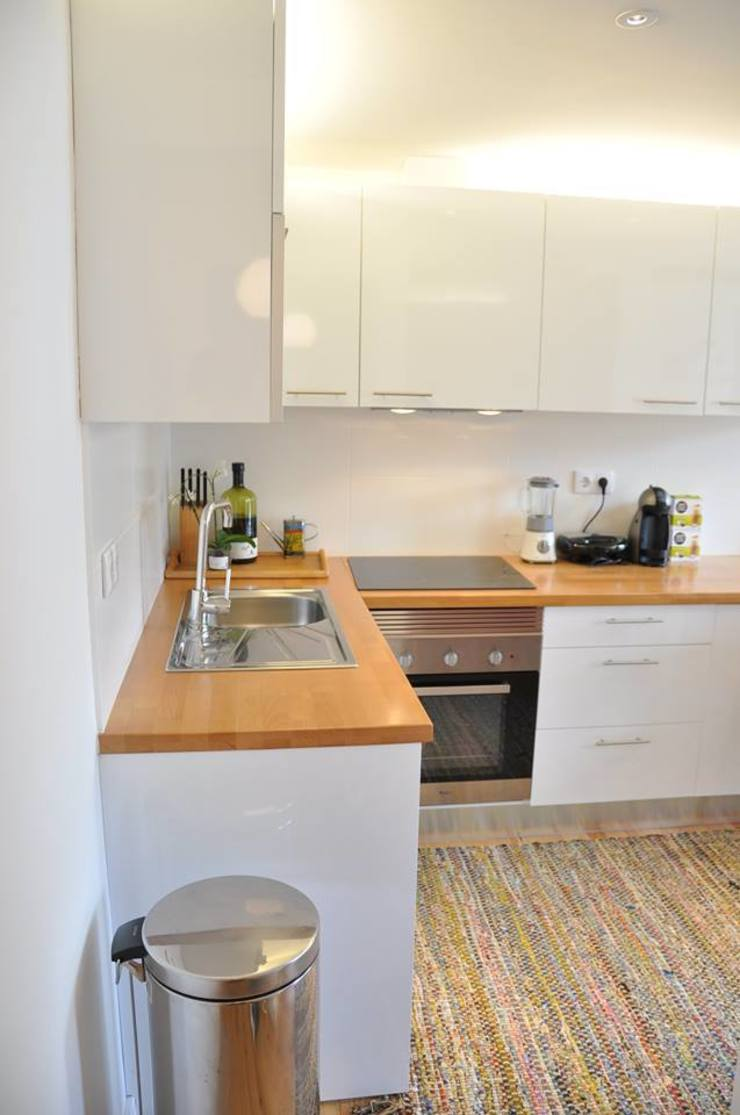 São Bento Cozinhas modernas por G.R design Moderno