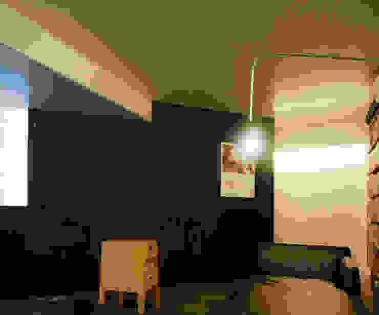 隠れ家リトリート インダストリアルな 壁&床 の 大塚聡アトリエ・一級建築士事務所 インダストリアル