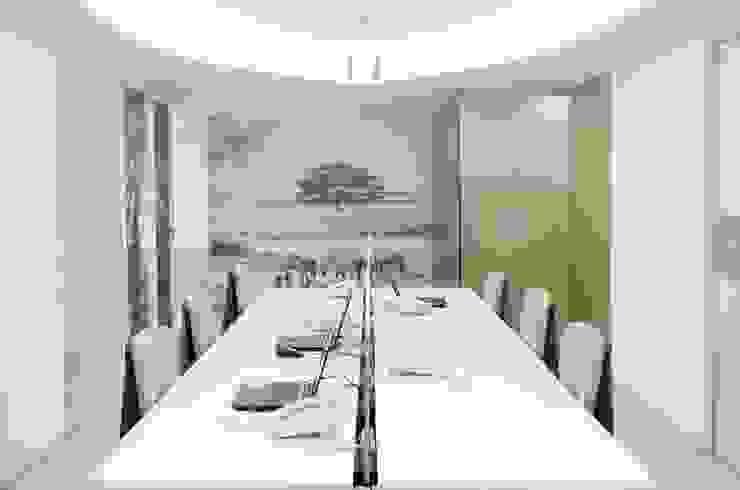 Modern Study Room and Home Office by Belhogar Diseños, C.A. Modern