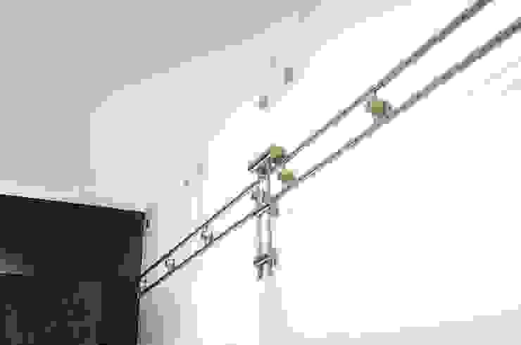 Remodelación de apartamento Belhogar Diseños, C.A. Pasillos, vestíbulos y escaleras de estilo clásico