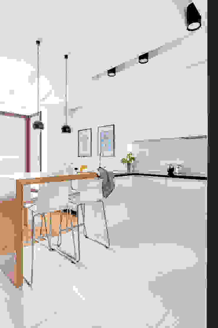 Ayuko Studio Minimalist kitchen White
