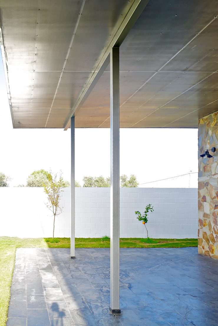Sánchez-Matamoros | Arquitecto ระเบียง, นอกชาน เหล็ก Metallic/Silver