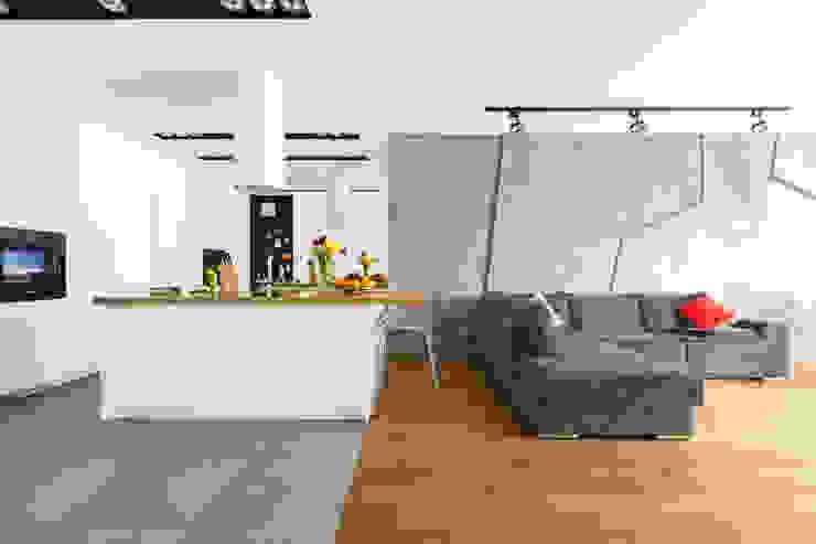 homify Modern living room Grey