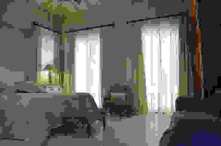 Alaçatı, Yatak Odası Perde Uygulaması Kırsal Yatak Odası Levent Home Collection Kırsal/Country Keten Pembe