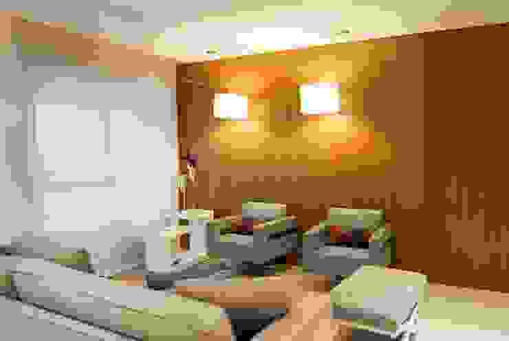 Residência Vale do Paraíba - SP Salas de estar modernas por ANALU ANDRADE - ARQUITETURA E DESIGN Moderno
