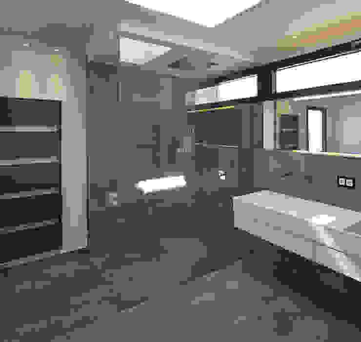 Baños de estilo moderno de LEE+MIR Moderno