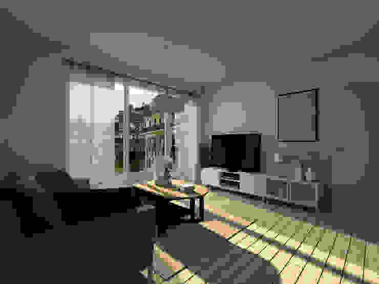 Sandia Design Salas de estar minimalistas