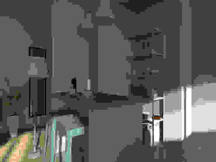 Espaces à vivre doux & lumineux Cuisine minimaliste par Sandia Design Minimaliste