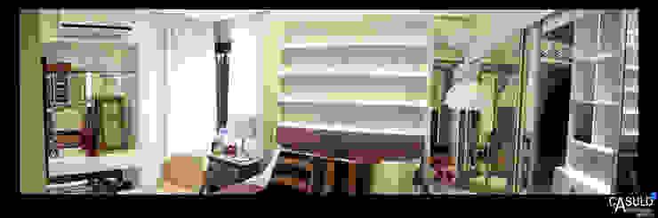 Camera da letto moderna di casulo arquitetura design Moderno
