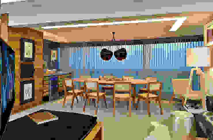 SALA Edílson Campelo Arquitetura Salas de jantar modernas