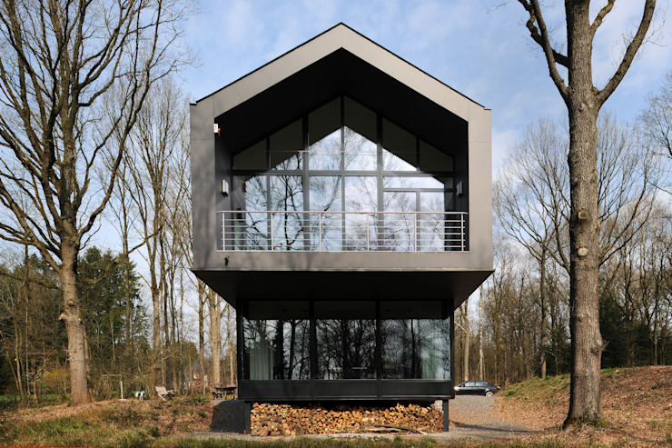 Luc Spits Architecture Modern houses