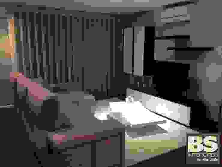 Sala de Estar Luna por BS Interiores Moderno