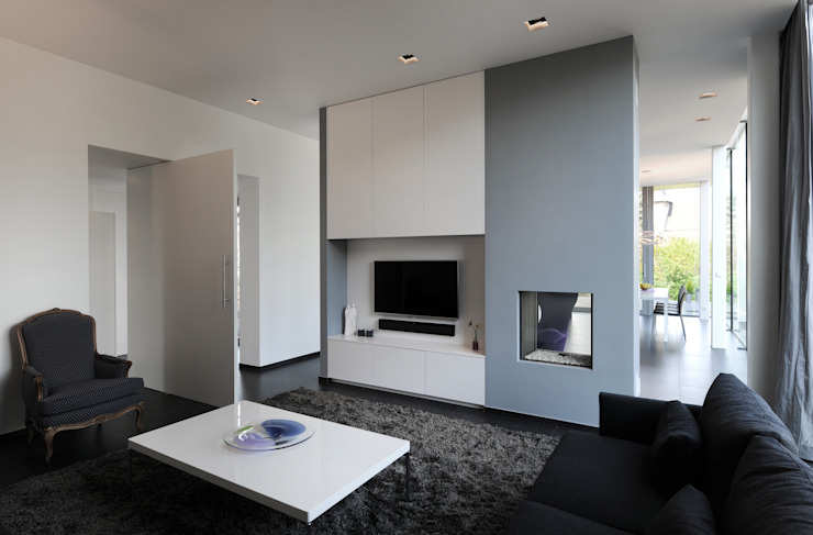Luc Spits Architecture Modern living room