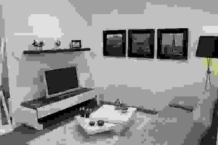 Sala de Estar/Jantar Gabriela por BS Interiores Moderno