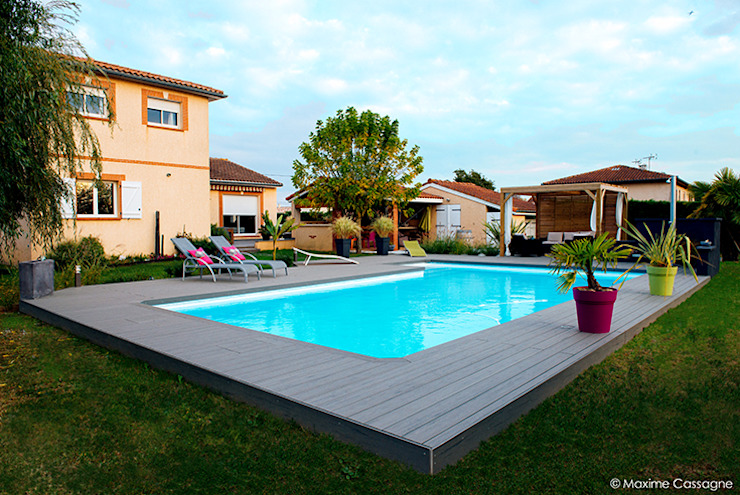 Pool by E/P ESPACE DESIGN - Emilie Peyrille, Modern