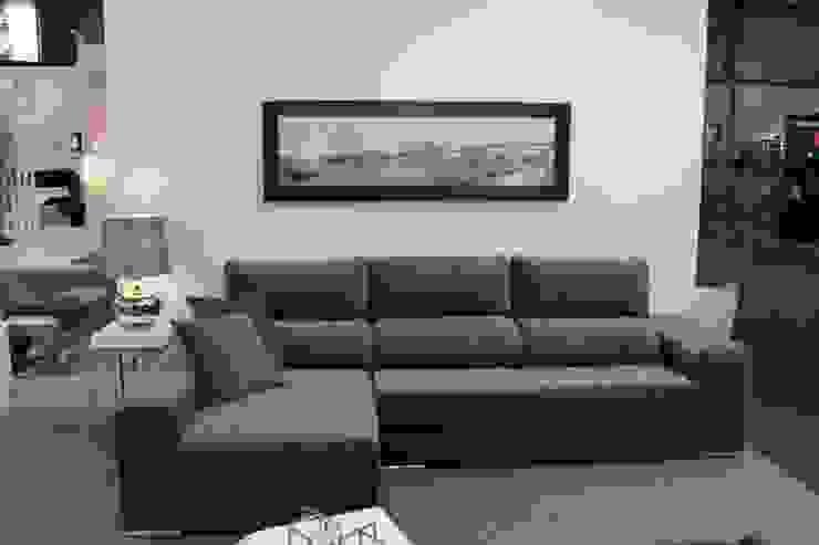 Sala de Estar Luna Salas de estar modernas por BS Interiores Moderno