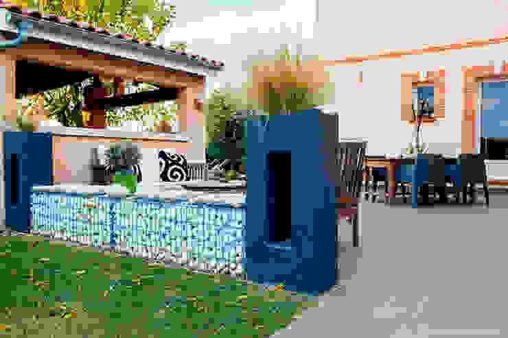 """"""" Un JARDIN DESIGN chez soi """" Balcon, Veranda & Terrasse modernes par E/P ESPACE DESIGN - Emilie Peyrille Moderne"""