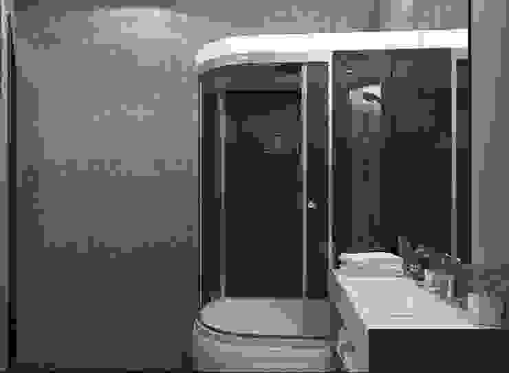 Апартаменты с видом на канал имени Москвы Ванная комната в стиле минимализм от Архитектор-дизайнер интерьеров Минимализм